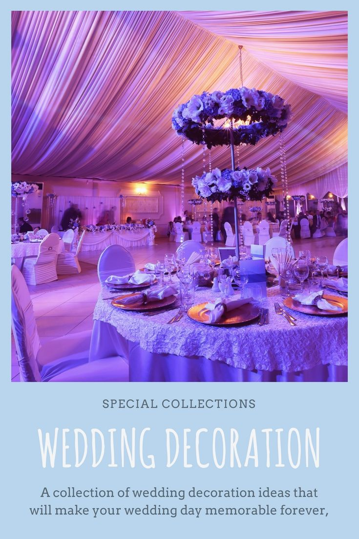 Liven Up Your Own Wedding Event Decoration By Having One Of These