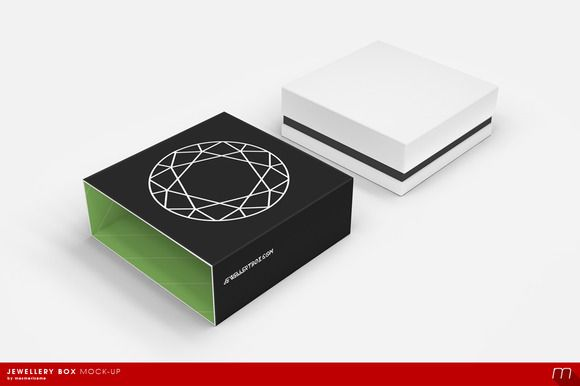 Download Jewellery Box Mock Up Jewelry Box Jewelry Mockup