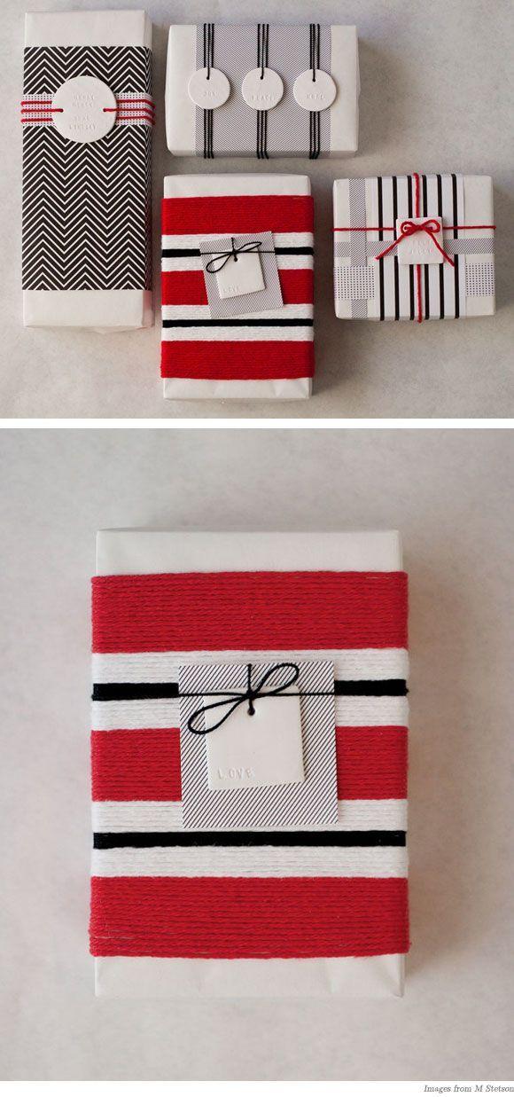 Envoltura Gift wrapped Pinterest Empaques de regalos, Empaques - envoltura de regalos originales
