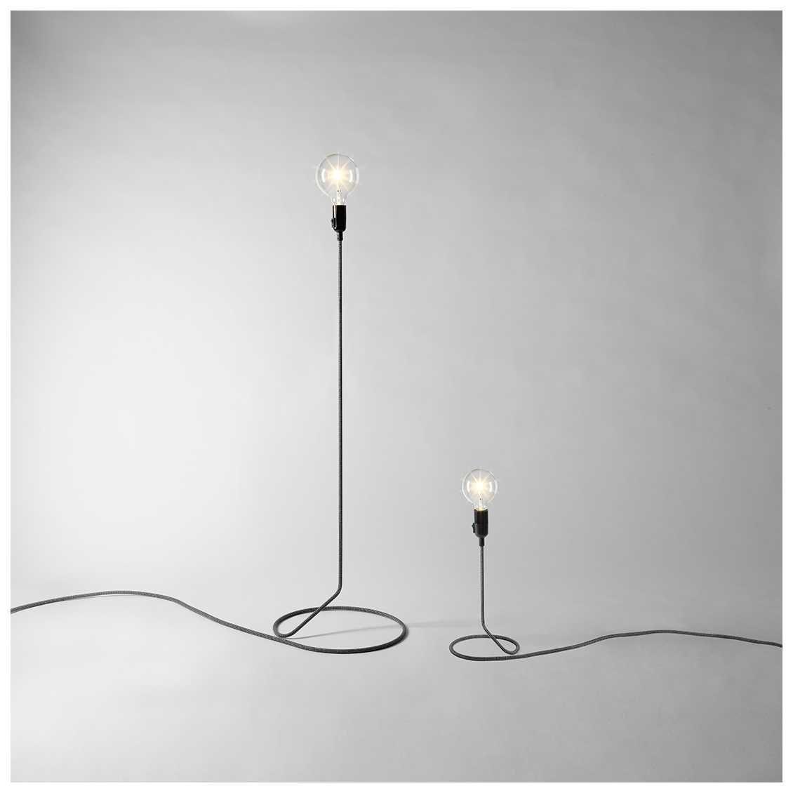Design House Stockholm Cord Lamp Mini Misterdesign Floor Lamp