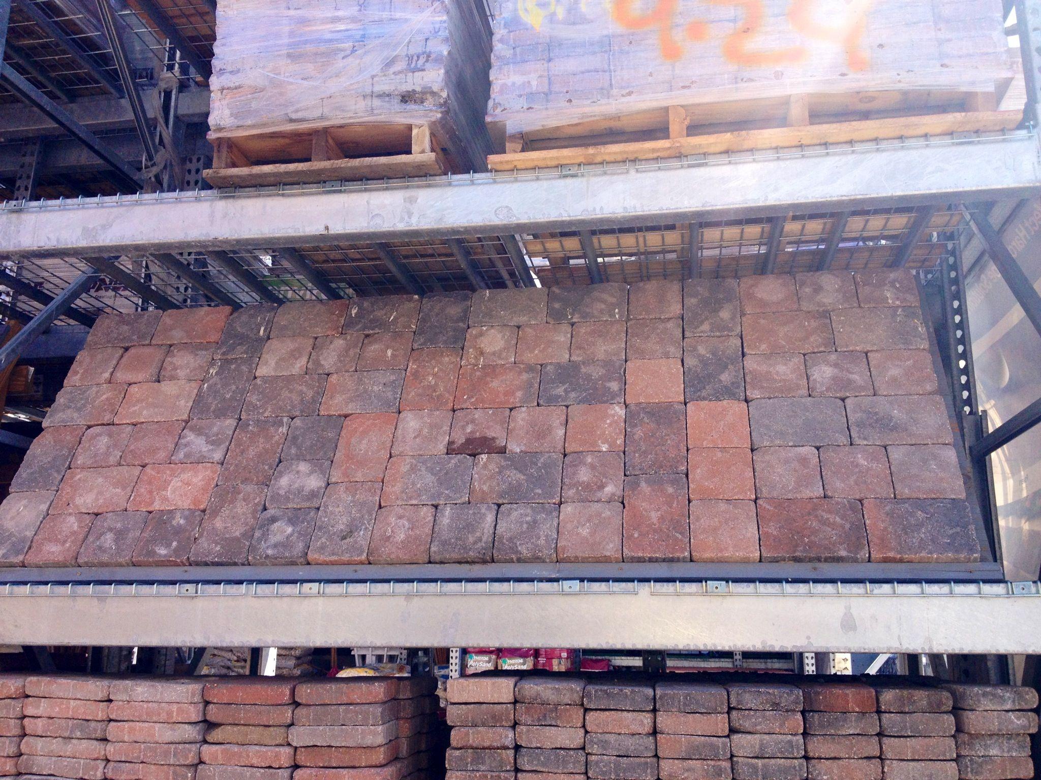 pavestone venetian paver square and rectangular for patio home