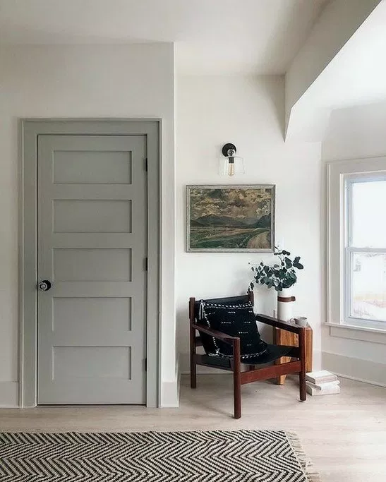 44 Modern Farmhouse Paint Colors Farmhousedecor Farmhousepaint Modernfarmhouse Home Interior Paint Combinations Interior Door Colors Grey Interior Doors