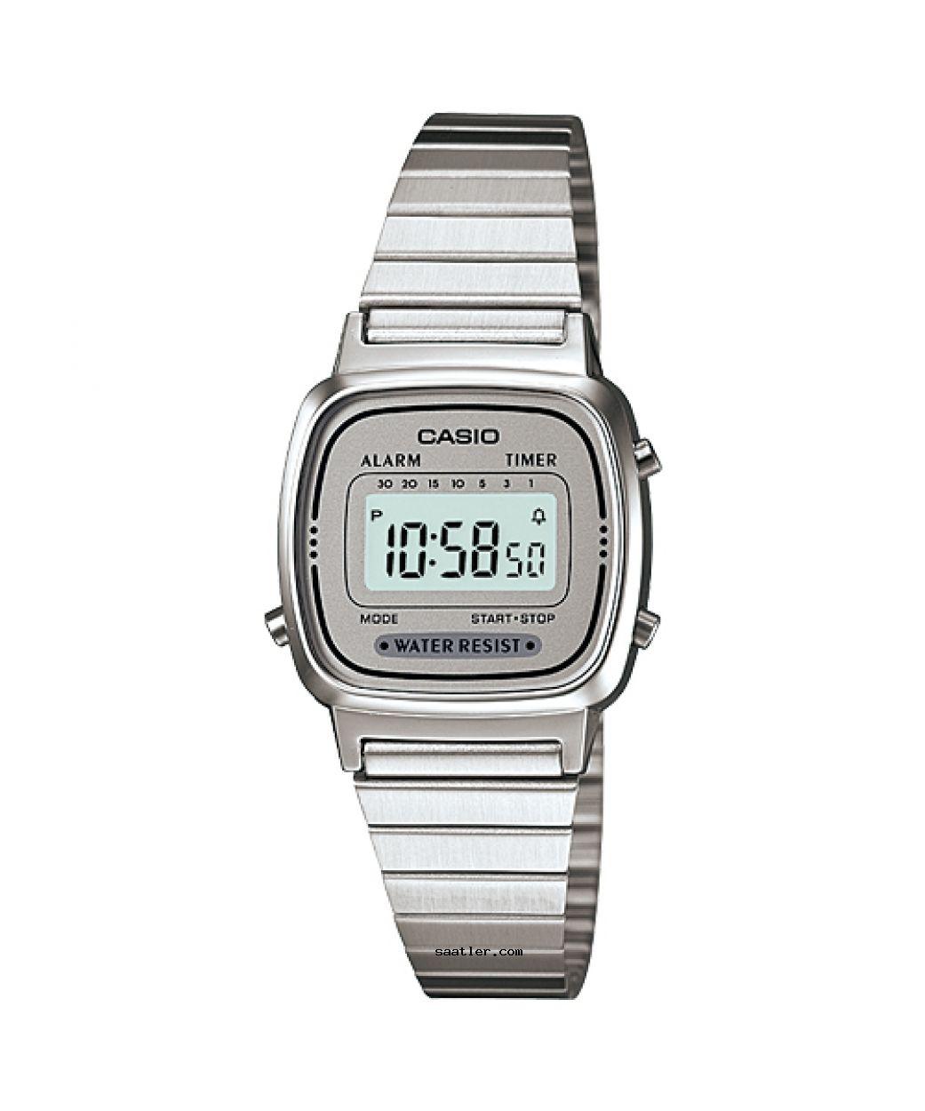Casio Retro La670wa 7df Kol Saati Retro Mineraller Saatler