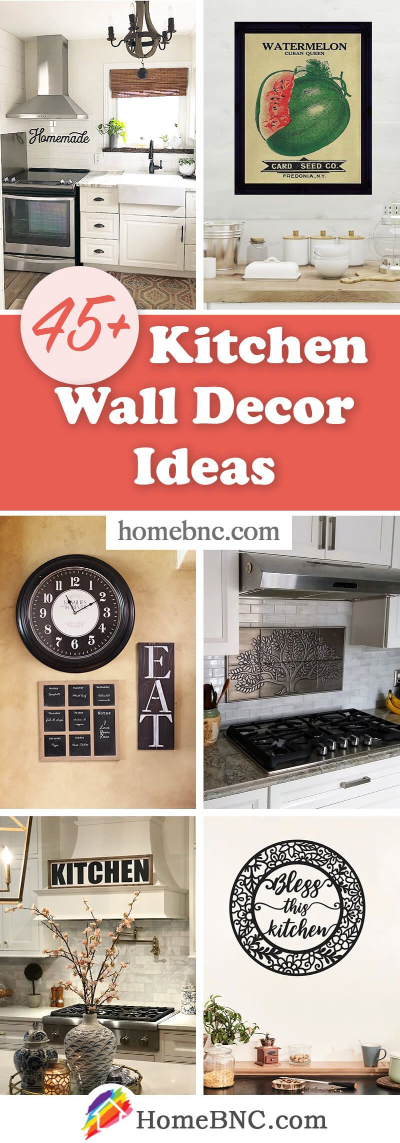 45 Best Kitchen Wall Decor Ideas And Designs For 2021 In 2021 Kitchen Wall Decor Kitchen Wall Decor