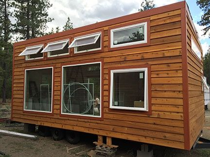The Urban Cabin 14 X 28 Tiny houses Cabin and Tiny house plans