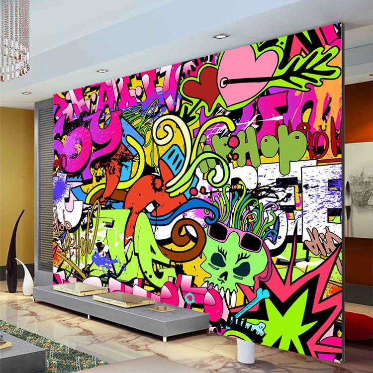 Good Wallpaper Custom On Sale At Reasonable Prices, Buy Graffiti Boys Urban Art  Photo Wallpaper Custom Wall Mural Street Culture Wallpaper Large Wall Art  Bedroom ...