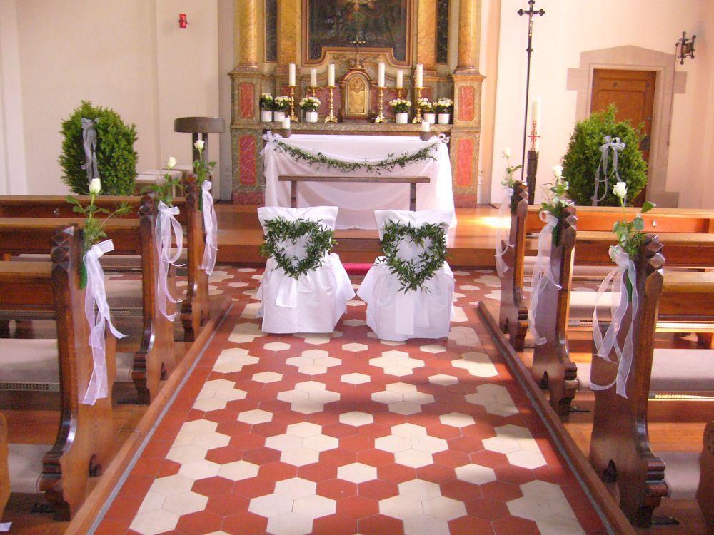 Kirchendeko hochzeit  Hochzeit