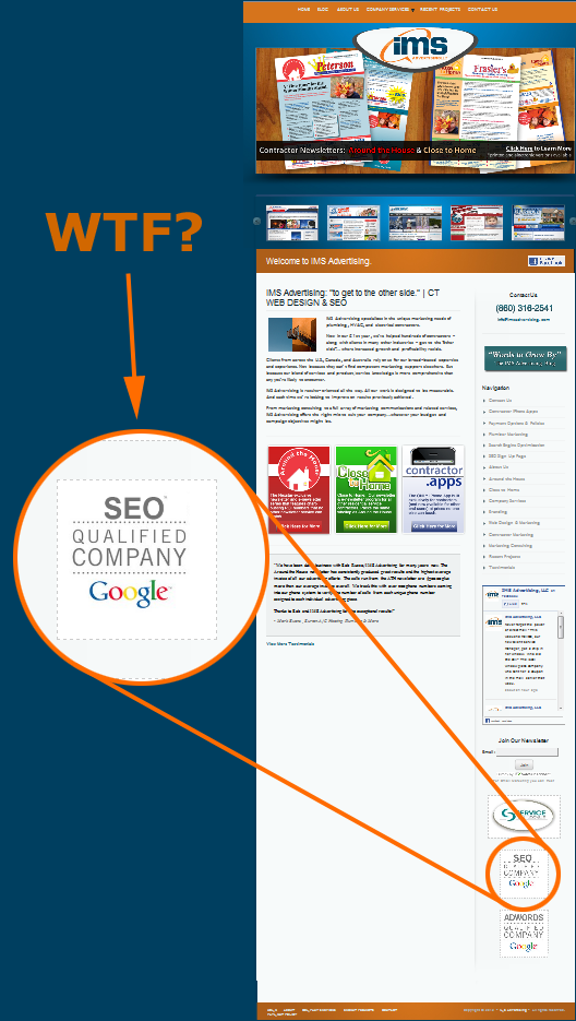 Fake Google Seo Certification Seointernet Pinterest Seo
