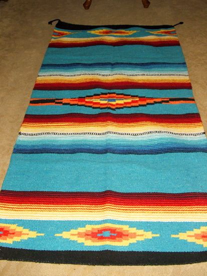Details About Mexican Throw Rug Tapestry Southwestern 32 X