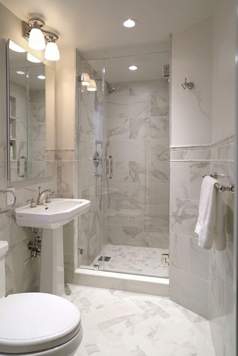 E 77th St Nyc Small Bathroom Bathroom Tub Shower Apartment Renovation