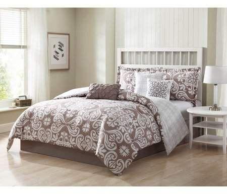 Helena 7-Piece Reversible Comforter Set - Walmart.com