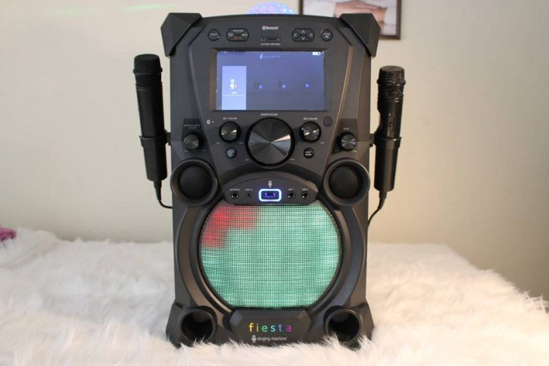 Come Sing Along with Me with The Singing Machine Fiesta Karaoke System. #ValentinesDay #bestkaraokemachine Welcome to our 2018 Valentine's Day Guide! We will be sharing with you some awesome Valentine's Day gift ideas for #bestkaraokemachine