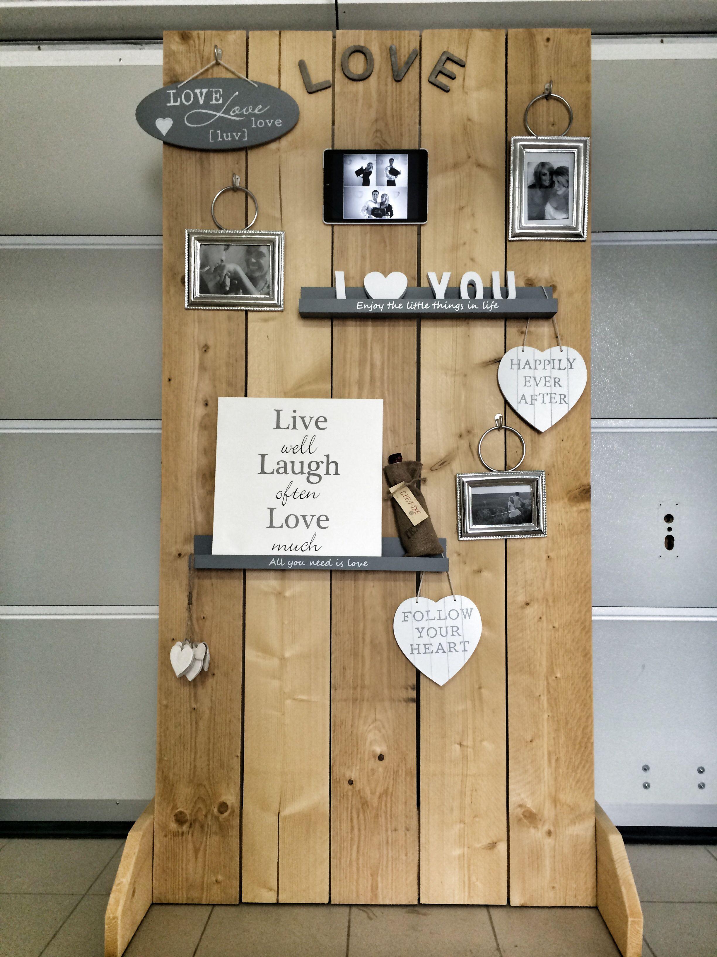Wedding Board Diy Video Booth With Ipad