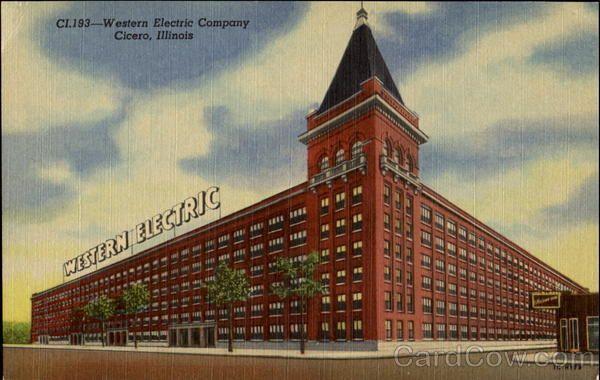 Western Electric Company Cicero Il Chicago Pictures Cicero Illinois Chicago City