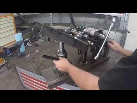 Metal Bender - tubing - flat bar stock - Metalwork Monday 6