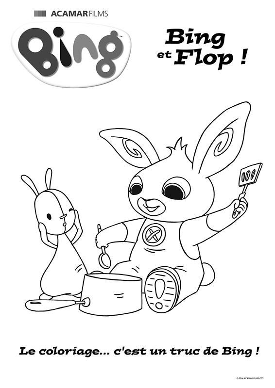 printable bing bong coloring pages - photo#34