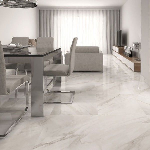 Grey Themed Modern Living Room Furniture And Finishes White Tile