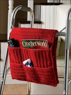Crochet organiser with pockets                                                                                                                                                                                 Mais