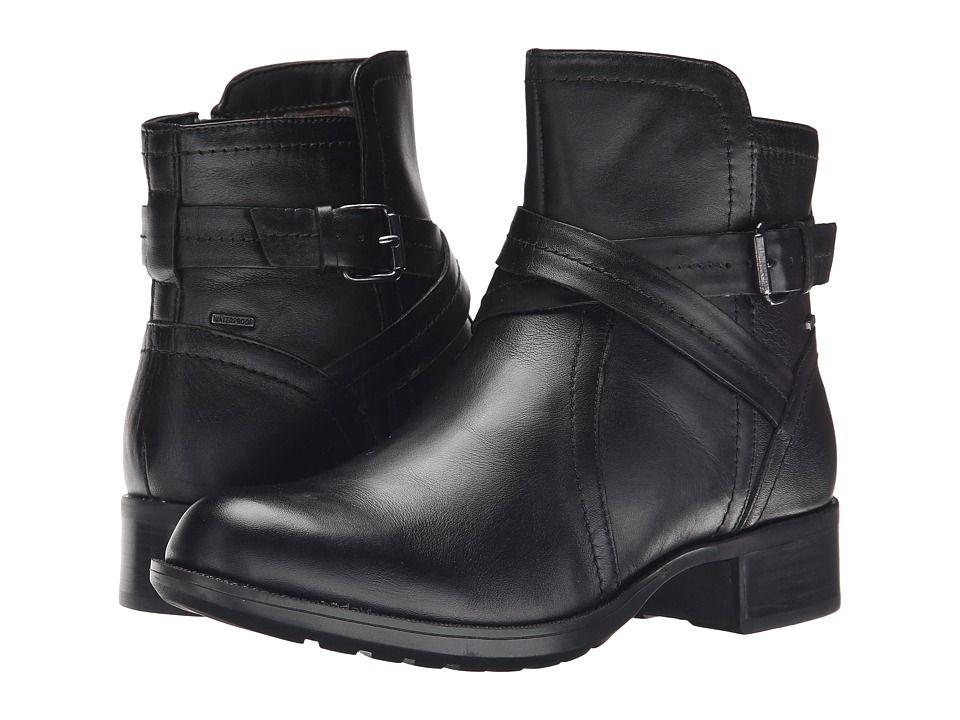132eccf9e Rockport Cobb Hill Collection Cobb Hill Caroline Women s Zip Boots Black