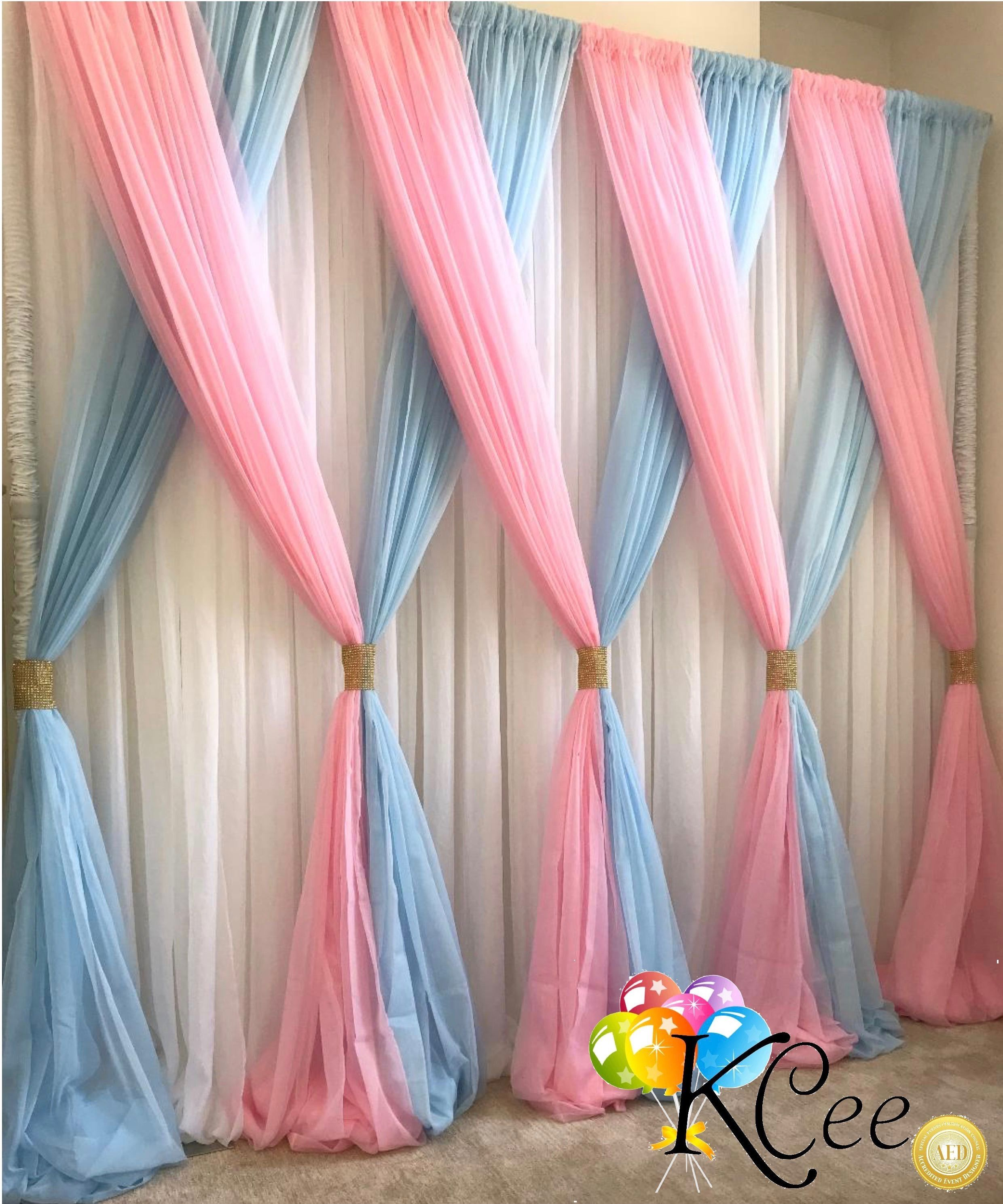 Beautiful Sheer Voile Draping By Kcee S Party Pieces That S Just