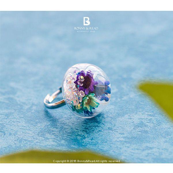 Bonny & Read 平價飾品 - 迷幻花園泡泡戒指 / Mystic Garden Ring