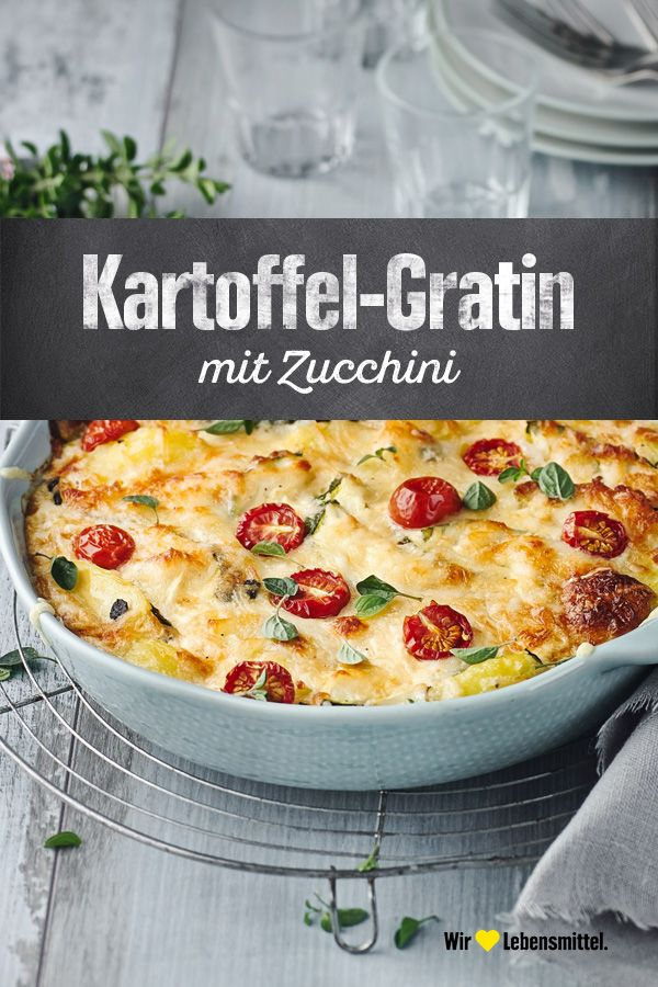 Photo of Zucchini and potato gratin