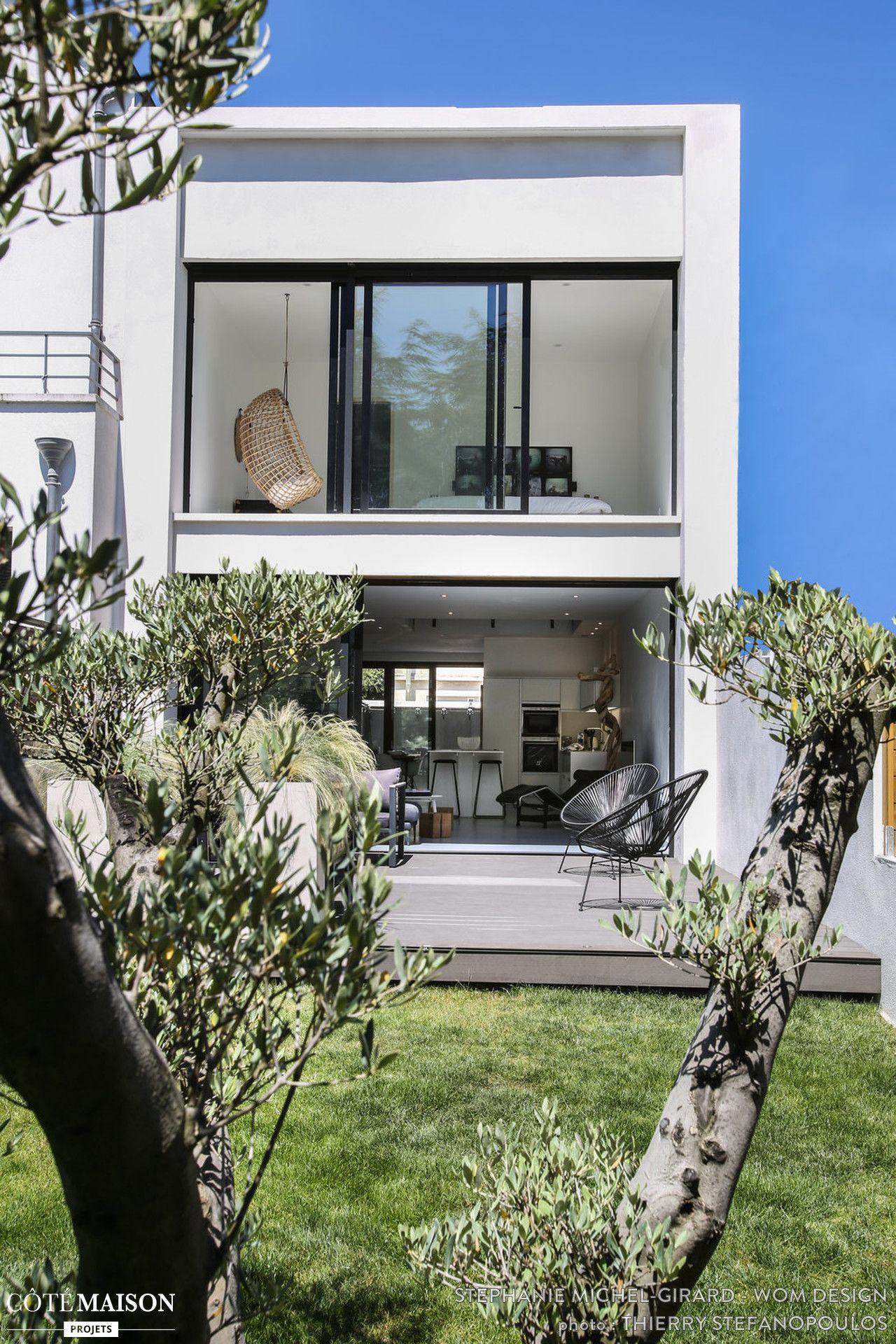 Construction et am nagement d 39 une maison ultra for Maison ultra contemporaine