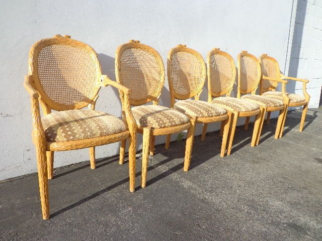 About A Chair 22 Armchair.Set Of 6 Italian Faux Bois Dining Chairs Armchair 22 1 4 X 22 X