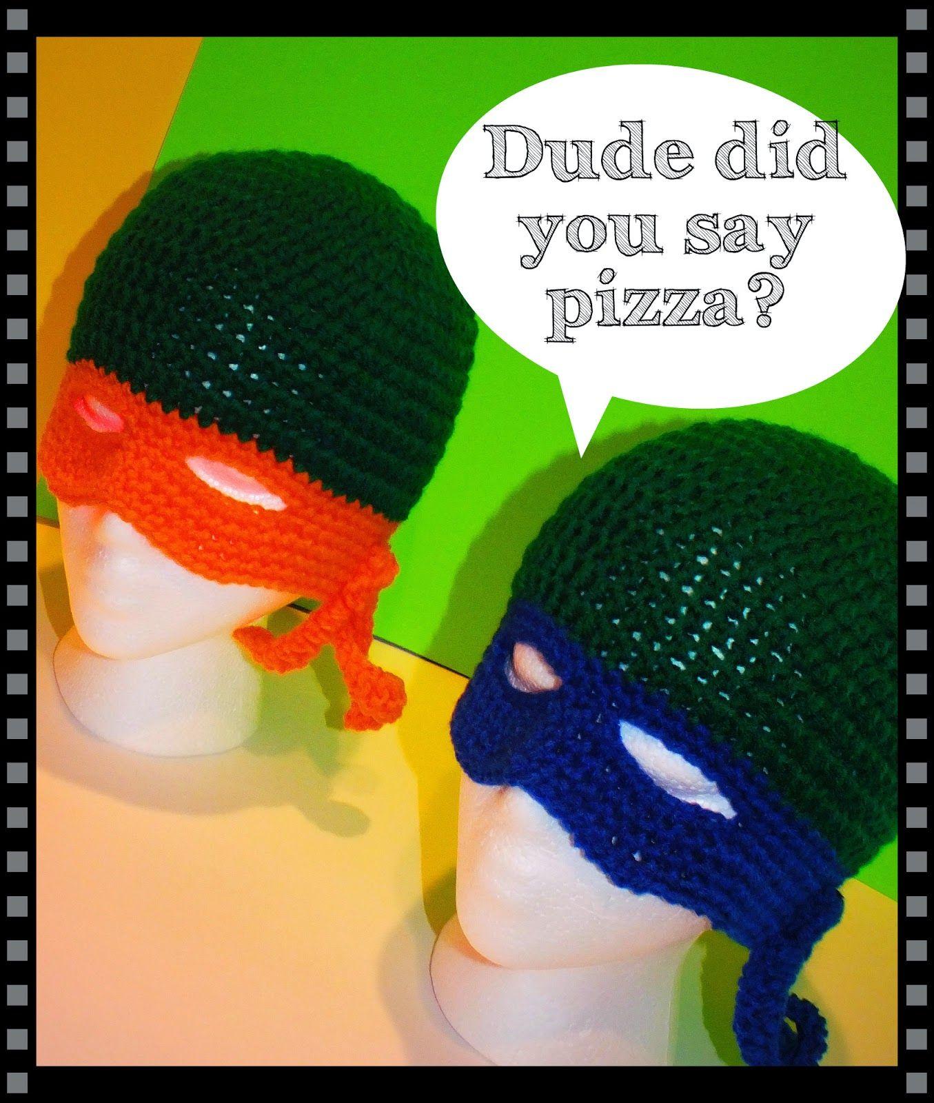 Connie\'s Spot© Crocheting, Crafting, Creating!: Free Ninja Turtle ...