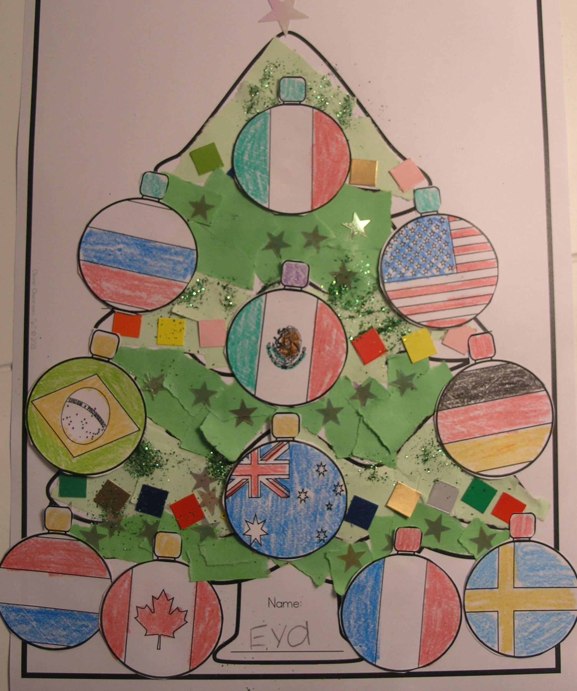 Christmas around the world Christmas kindergarten
