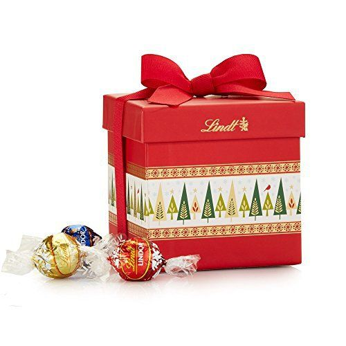 Lindt Chocolate Lindor Truffles Assorted Classic Gift Box, 12.7 ...
