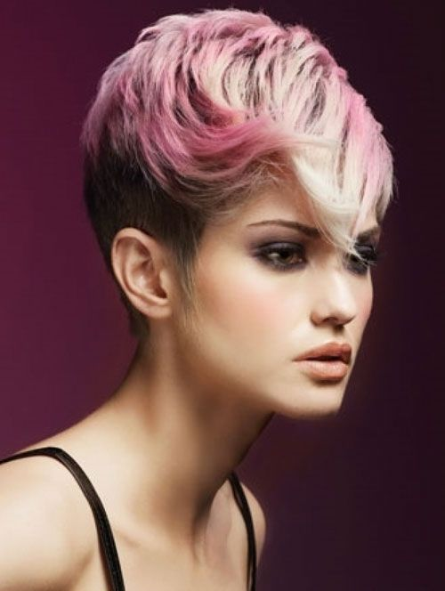 Coloring Ideas For Short Hair : 20 short hair color for women 2012 2013 ecstasy models