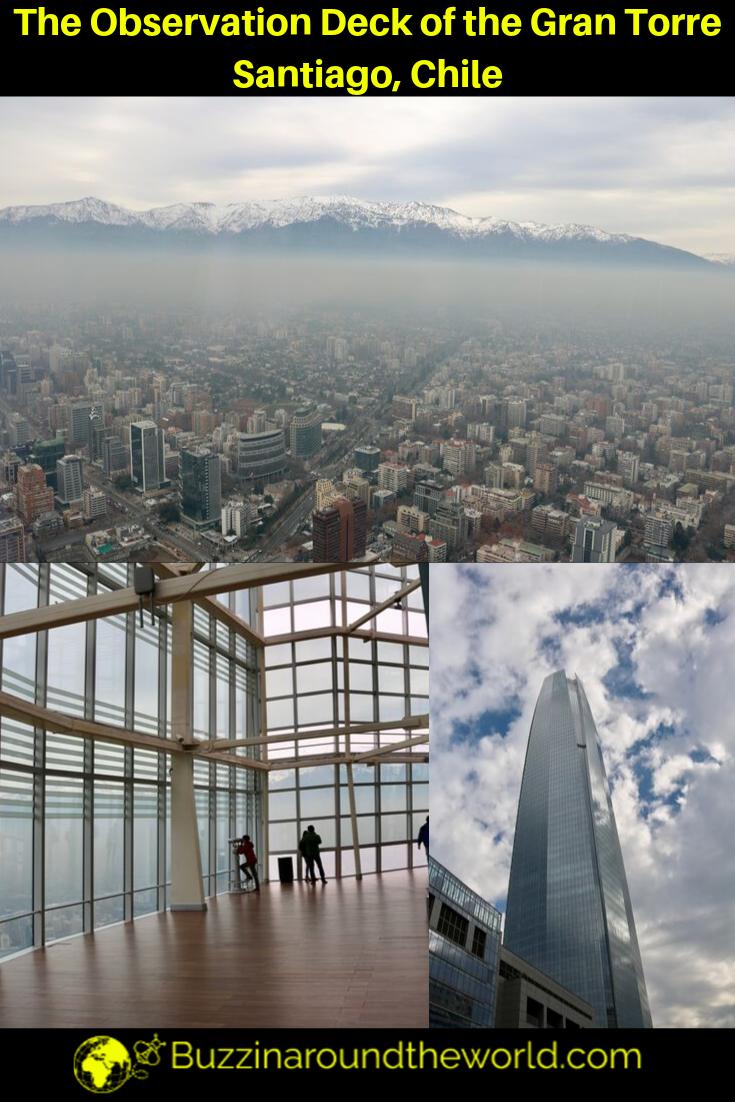 The Observation Deck of Santiago's Gran Torre Santiago
