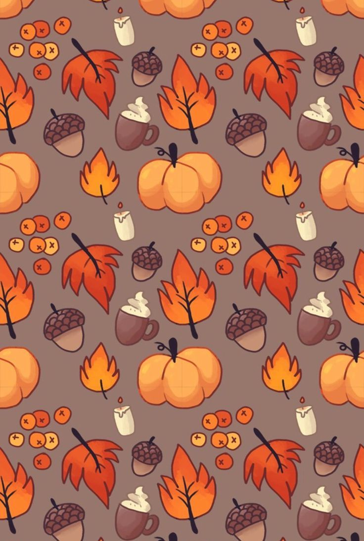 Autumn Leaves Print, Leaf Varieties, Types of Leaves, Seeds, Fall Colors, Harvest, Leaf Chart, Thanksgiving, Halloween, October, Hostess #octoberwallpaperiphone