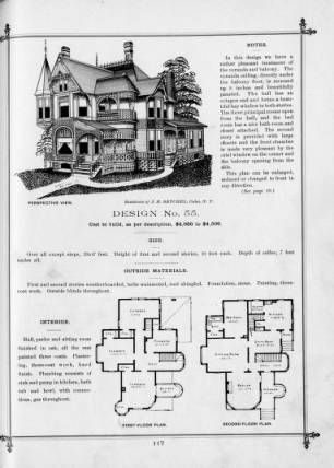 Cottage Souvenir #2 , 1891 :: George F. Barber Collection