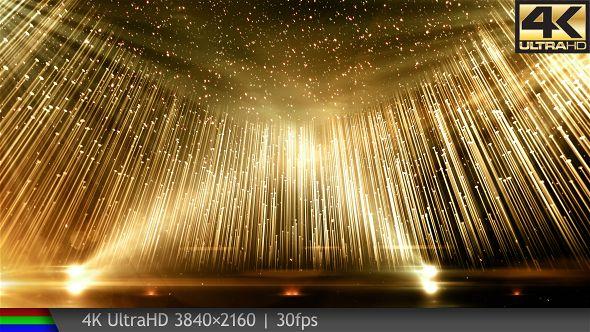 Golden stage awards version 4k animated background elegant - Oscar award wallpaper ...