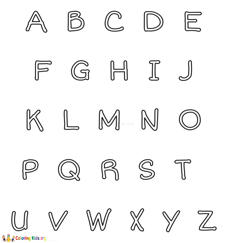 Coloring Kids Preschool Coloring Pages Alphabet Coloring Pages Coloring Pages