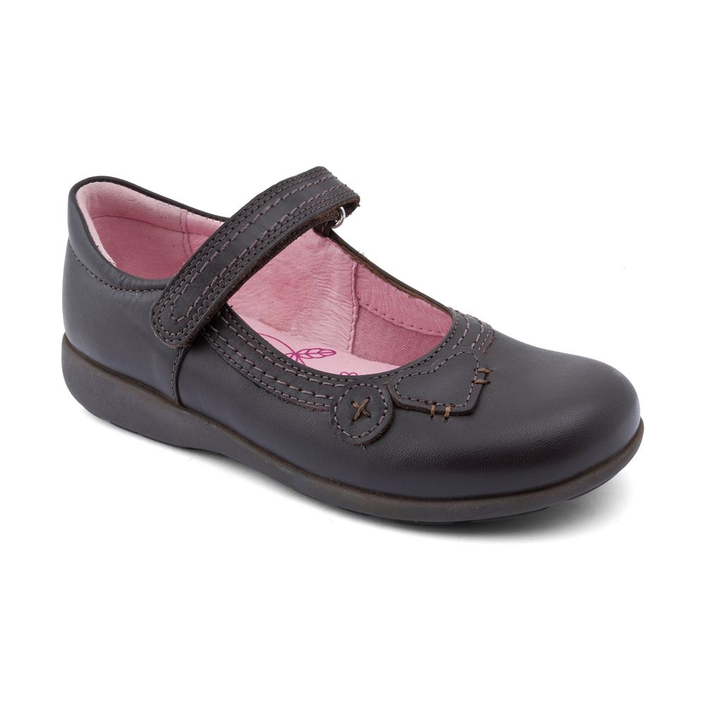 Startrite /'Claudia/' Girls Black leather shoes