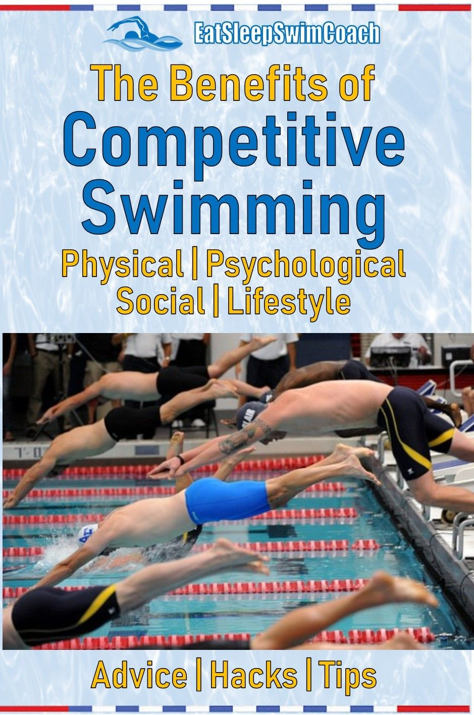 The Benefits of Competitive Swimming Competitive