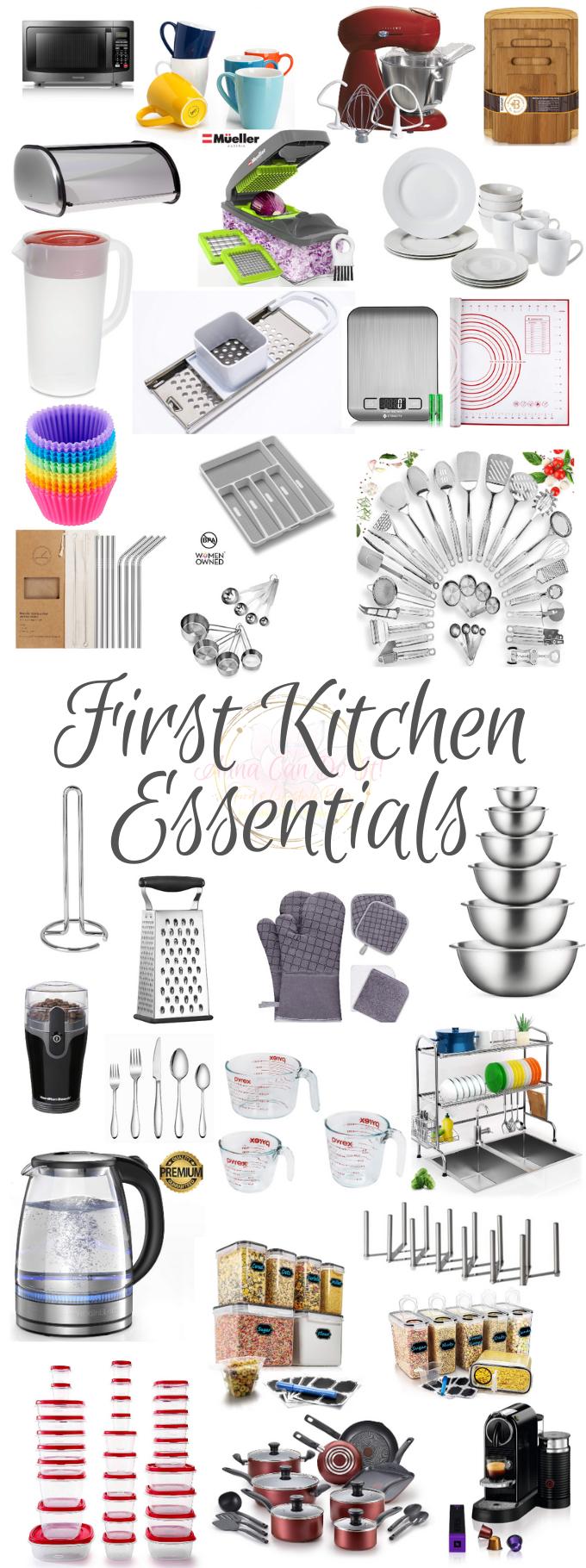 First Kitchen Essentials