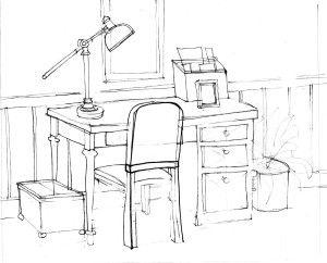 Interior Drawing Desk Interior Design Template Interior Design Drawings White Interior Design