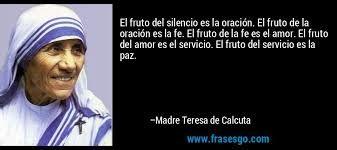 Resultado De Imagen Para Frases De La Madre Teresa De Calcuta Para