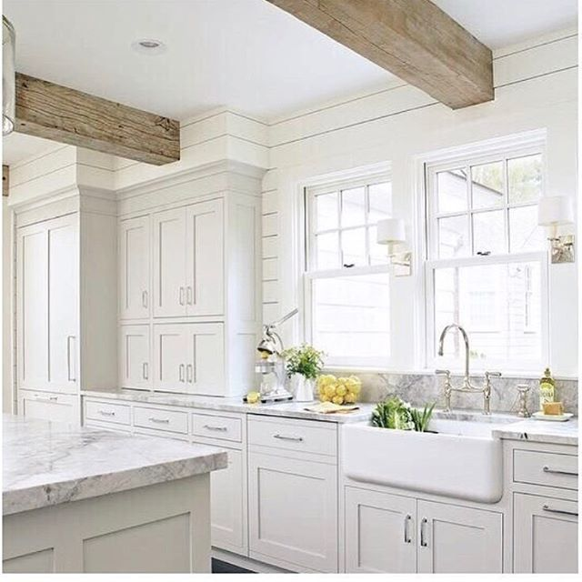 I M Swoonin With Ya Jillian Harris Love Me A Beautiful Well Designed White Kitchen With Th Light Grey Kitchens White Kitchen Design Gray And White Kitchen