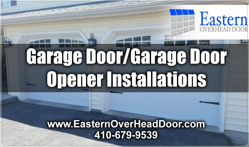 Garage Doorgarage Door Opener Installations We Can Install Garage
