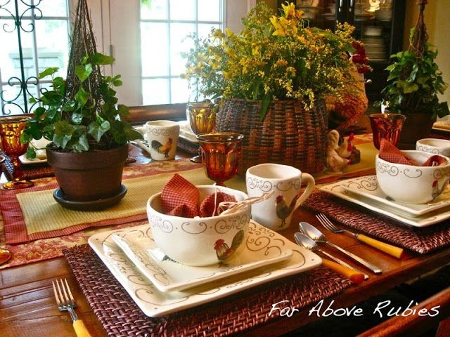Far Above Rubies: Autumn Tablescapes