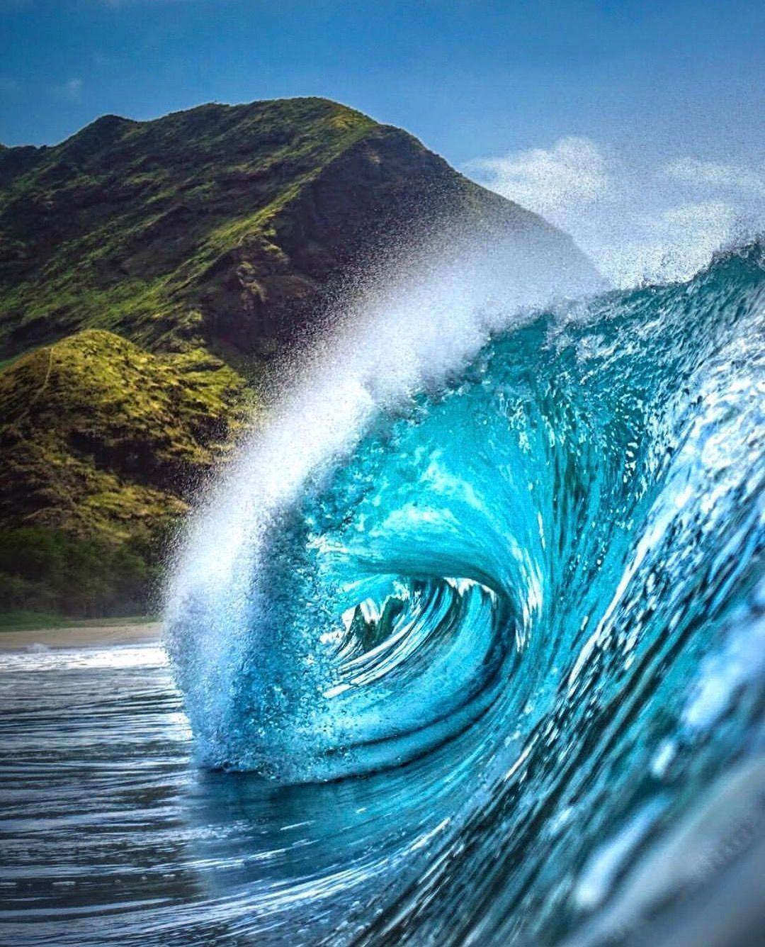 California Surfing 風景 波アート 景色