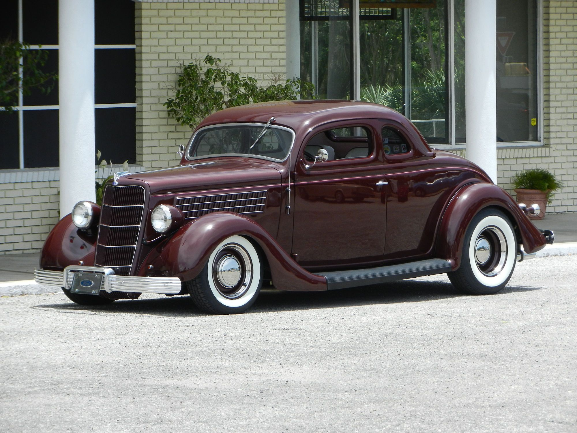 1935 Ford 5 Windows Coupe Custom With Images Hot Rods Cars