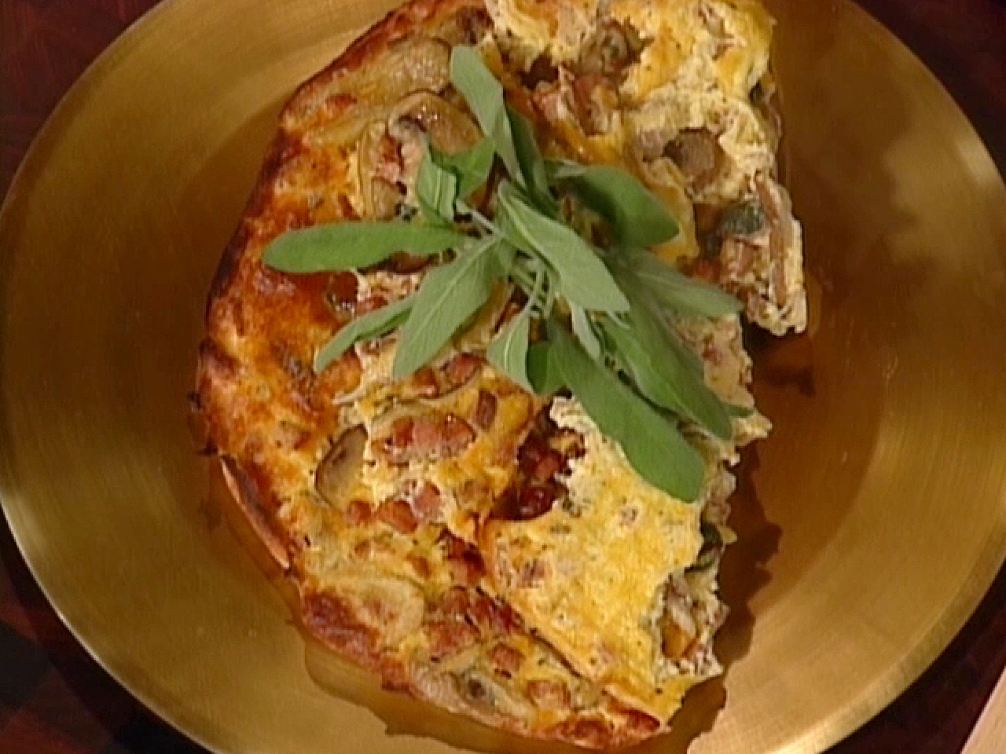 Wild mushroom and sausage frittata recipe from emeril lagasse via wild mushroom and sausage frittata recipe from emeril lagasse via food network forumfinder Gallery