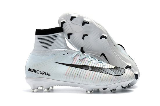 Cr7 Outdoor Soccer Cleats Boots Fg Size 35 45 White Black New Coming Soccer Boots Soccer Cleats Nike Soccer Shoes