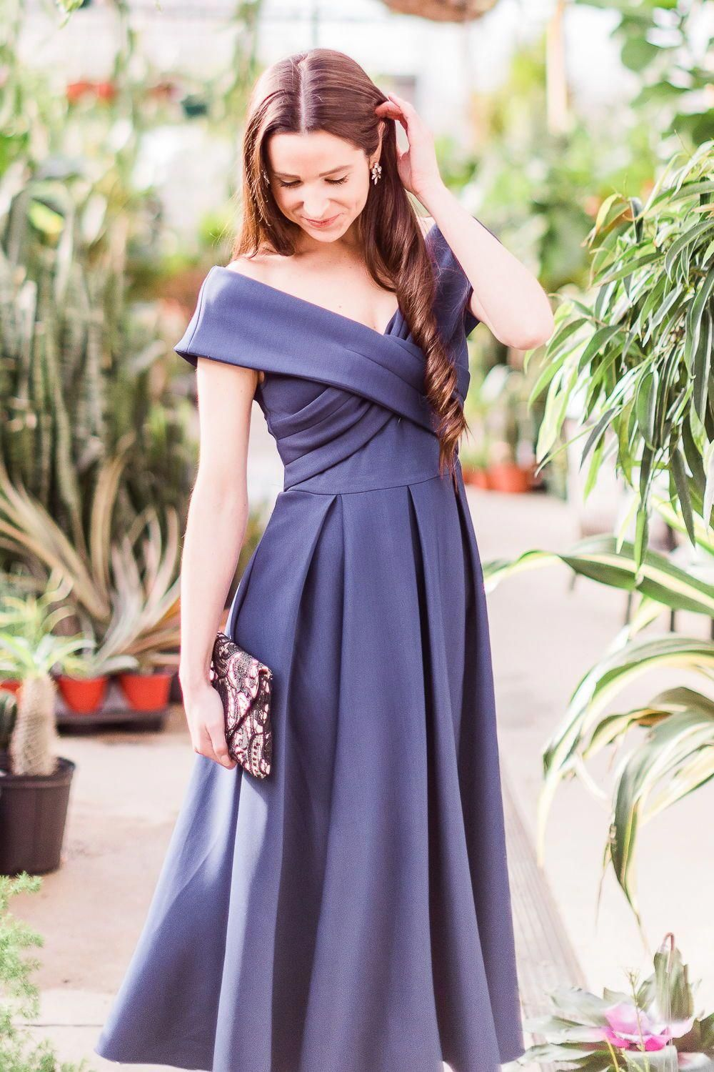Not Sure What To Wear To A Formal Garden Wedding Or Garden Party Give This Sophisti Navy Wedding Guest Dresses Wedding Guest Dress Styles Wedding Attire Guest [ 1500 x 1000 Pixel ]